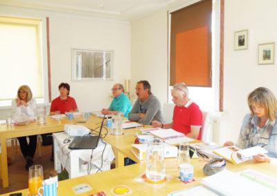 Ausbildung in kleinen Gruppe