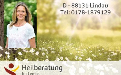 D-88131 Lindau – Heilberaterin Iris Lemke